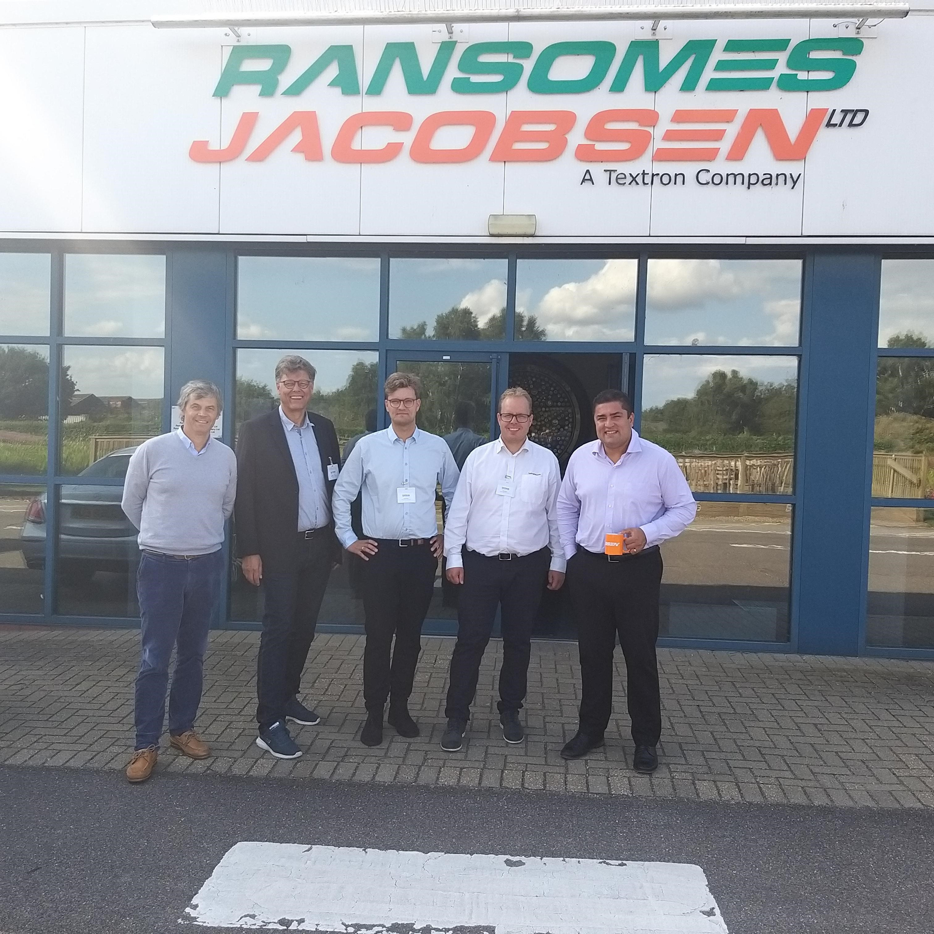 "Goncalo Carneiro, Export Regional Sales Manager Ransomes Jacobsen Ltd: ""Innovation is a keystone legacy for Jacobsen for past generation and now under Textron guidance"""