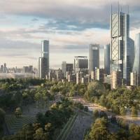 La nueva organización de las ciudades potencia las zonas verdes renovables junto a energías limpias