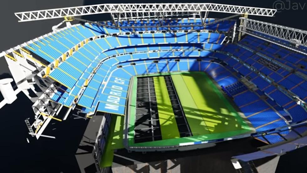 Las superficies de césped profesional deportivo se desdoblan en sorprendentes plataformas multieventos