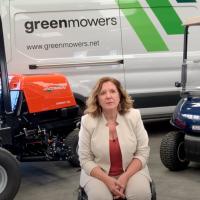 """Inmaculada Vega, Directora Financiera Green Mowers: """"Estamos en el momento perfecto para adquirir nuevas máquinas en el mantenimiento del césped por los fondos públicos para la recuperación"""""""