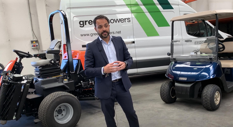"""Manuel del Val, Managing Director at Green Mowers: """"Invertimos en marcas líderes en innovación para asumir las transformaciones tecnológicas"""""""
